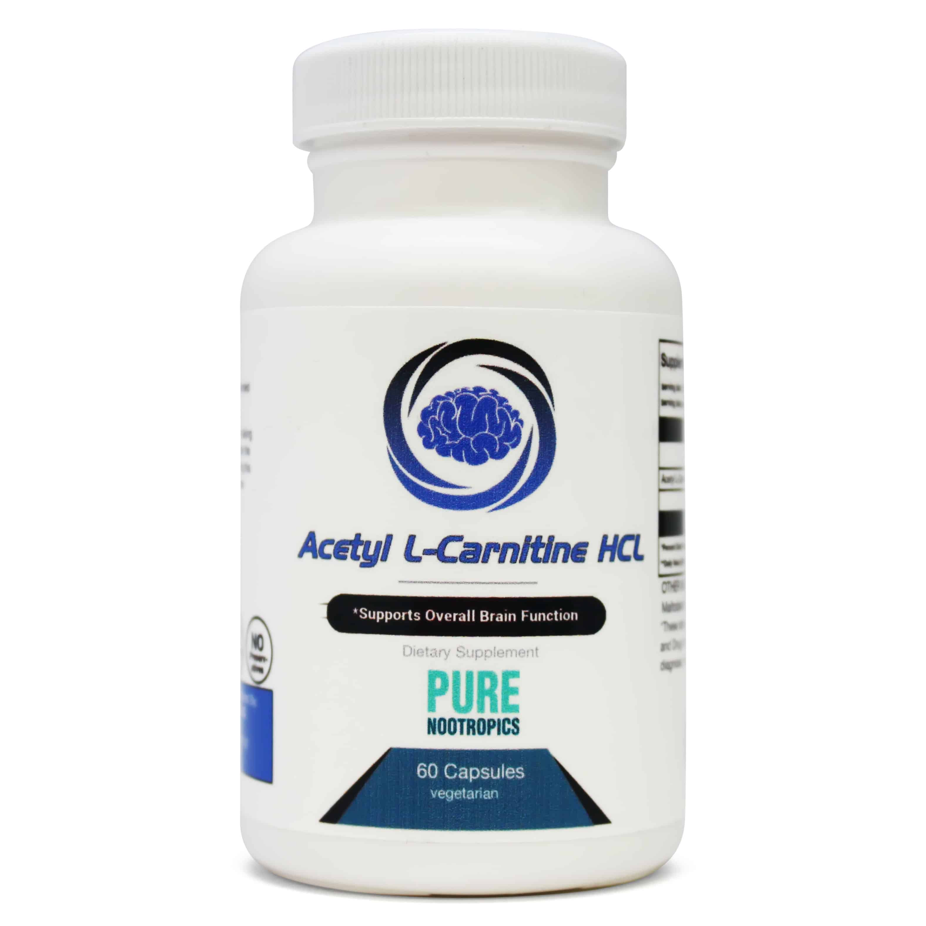 alcar  acetyl l-carnitine  powder and capsules
